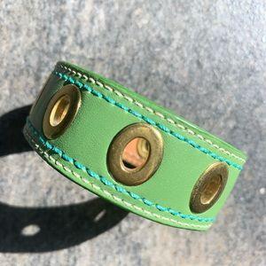 Beautiful leather bracelet